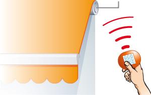 Dossier Store Terrasse Motorisation Commande Radio