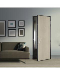 PORTE PALIÈRE BLINDÉE VAUBAN, Sécurisez votre appartement avec une porte blindée aussi robuste qu'élégante. Grâce à ses multiples options de personnalisation, cette porte haute sécurité répond à toutes les exigences de votre copropriété. Et pour apporter